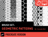 Brush Set: Geometric Patterns