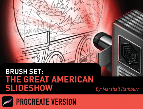 Brush Set: The Great American Slideshow