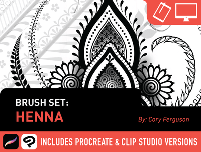 Brush Set: Henna