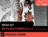 Brush Set: MC Flash Stamps Vol. 1.2