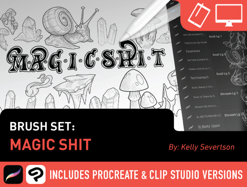 Brush Set: Magic Shit