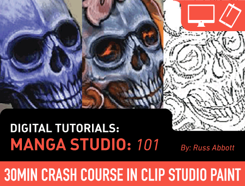 Digital Tutorials: Manga Studio 101 (Clip Studio #1)