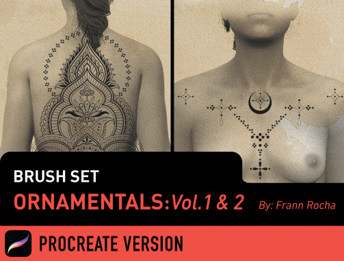 Brush Set: Ornamentals Vol. 1 and 2