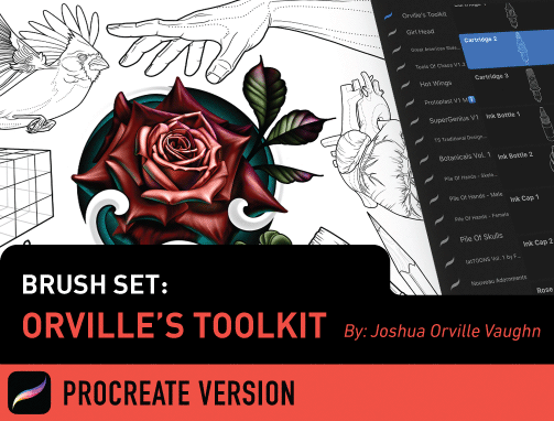 Brush Set: Orville's Toolkit