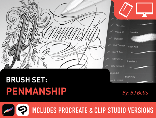 Brush Set: Penmanship