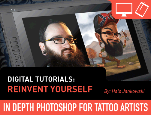 Digital Tutorials: Reinvent Yourself by Halo Jankowski