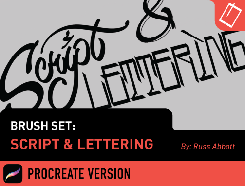 Brush Set: Script & Lettering