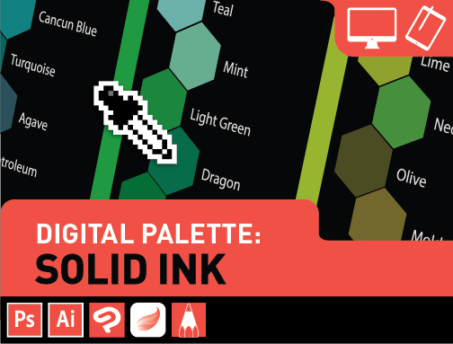 Digital Palettes: Solid Ink