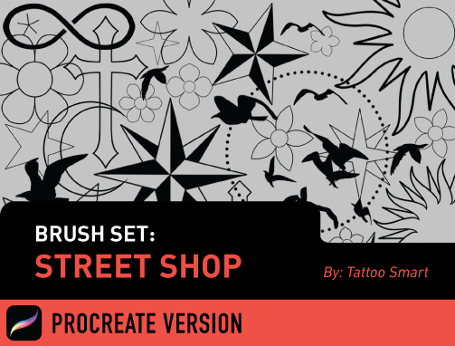 Brush Set: Street Shop