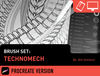 Brush Set: Technomech