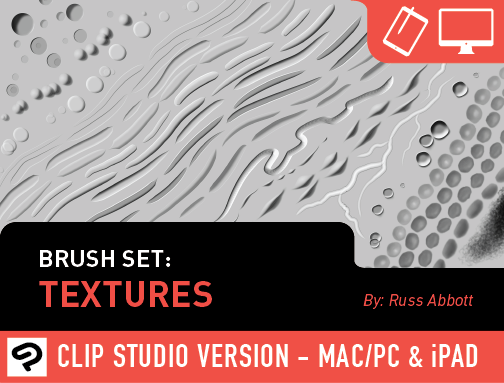 Brush Set: Textures