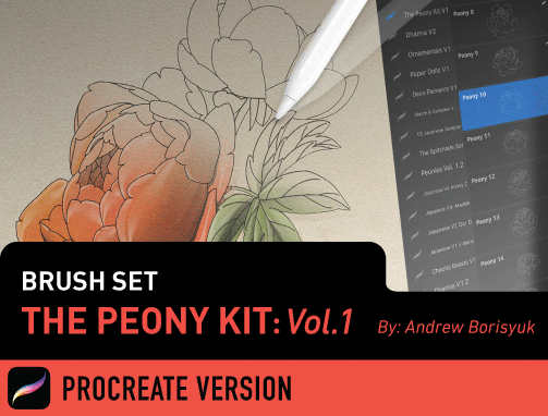 Brush Set: The Peony Kit Vol. 1