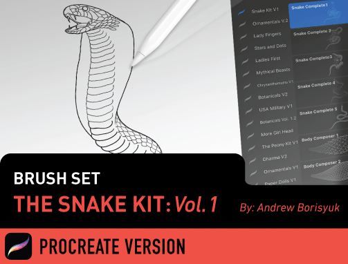 Brush Set: The Snake Kit Vol. 1