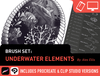 Brush Set: Underwater Elements