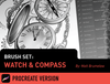 Brush Set: Watch & Compass Vol. 1.2