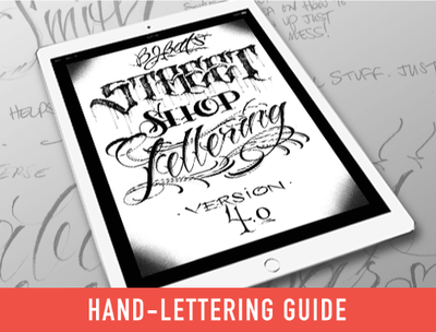 eBook: Lettering Guides 4-5 by BJ Betts
