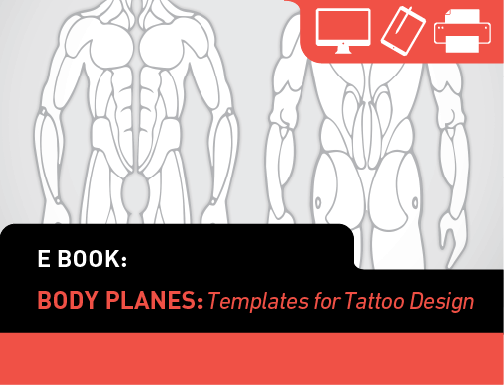 human body diagram tattoo ebook body planes tattoo smart  ebook body planes tattoo smart