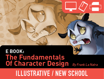 eBook: The Fundamentals of Character Design by Frank La Natra
