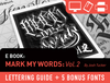 eBook: Mark My Words V2