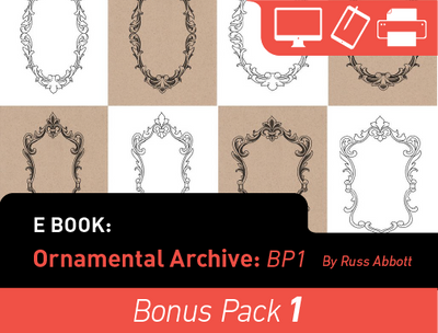 eBook: Ornamental Archive (Bonus Pack) by Russ Abbott