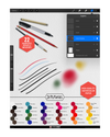 Box Set: Watercolor- Tattoo Flash Toolkit