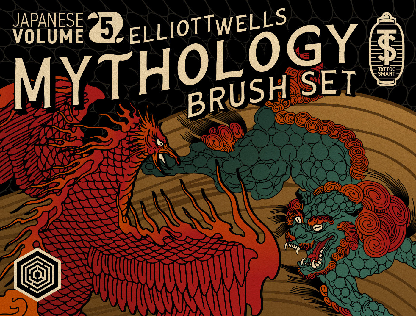 Brush Set: Japanese Vol. 5: Mythology