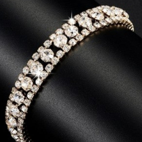 Fashion Hand-woven Beads Rhinestone Bracelets