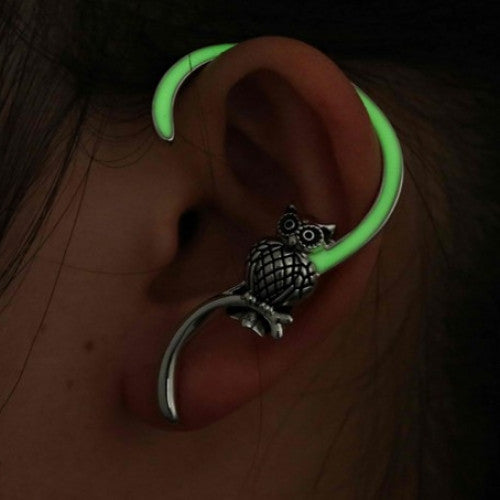 Luminous Ear Clips Earrings for Women