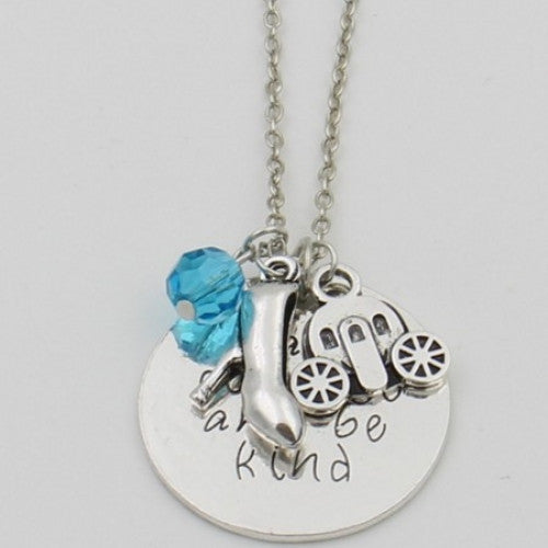 Cinderella Movie Inspired Vintage Necklace