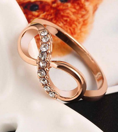 Zircon Ring Infinity Crystal Rings For Women