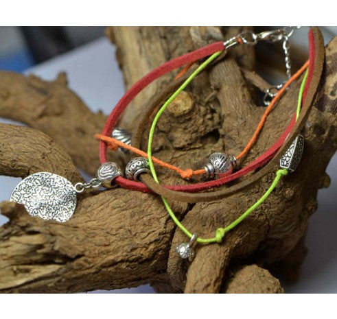 Multilayer Rope Chain Pendants Anklets