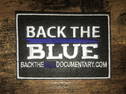 BACK THE BLUE PATCH