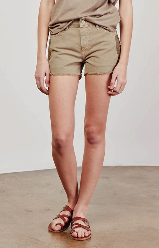 SANDRINE ROSE - The Embroidered Short in Sage