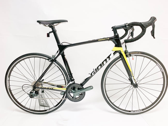 Giant TCR Adv 3 LG Carbon Black/yellow