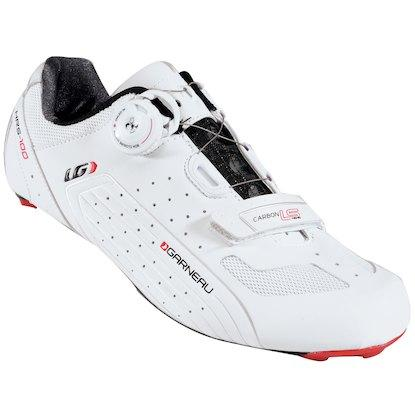 Carbon LS-100 II Cycling Shoes Unisex 41.5 White/Ginger