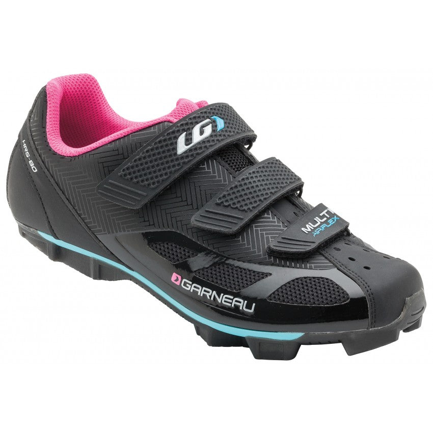 Louis Garneau Multi Air Flex Women's 37 Black/Pink