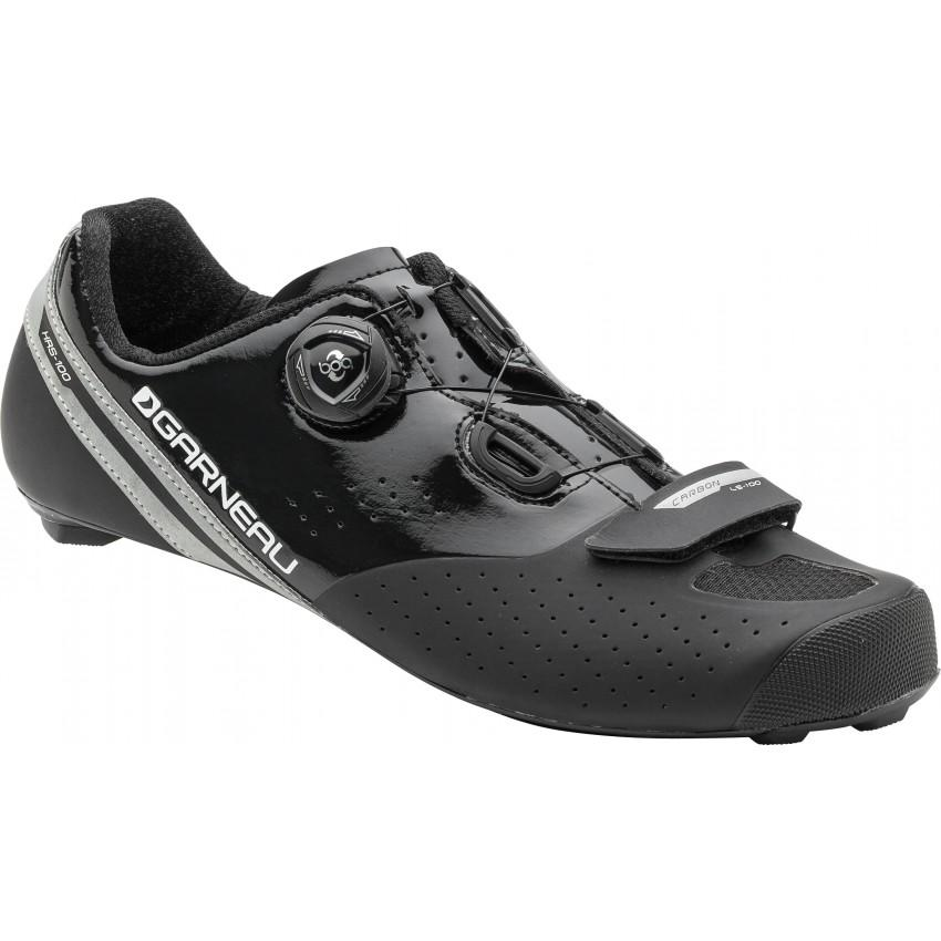 Carbon LS-100 II Cycling Shoes Unisex 45 Black