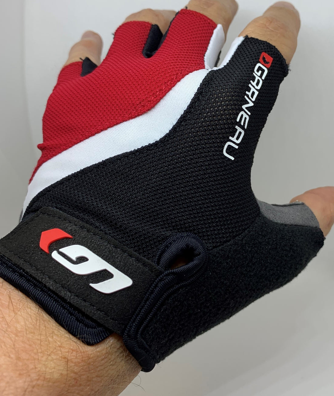 BIOGEL RX-V Cycling Gloves Men's Red Black Small