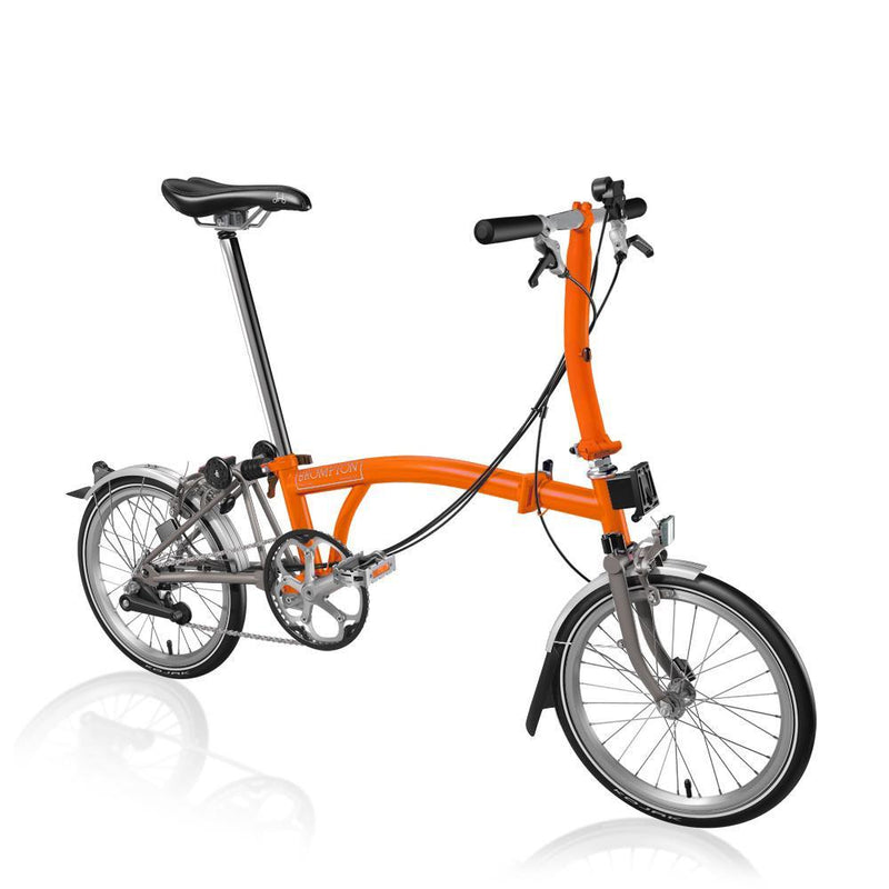 BROMPTON S2L TITANIUM ORANGE
