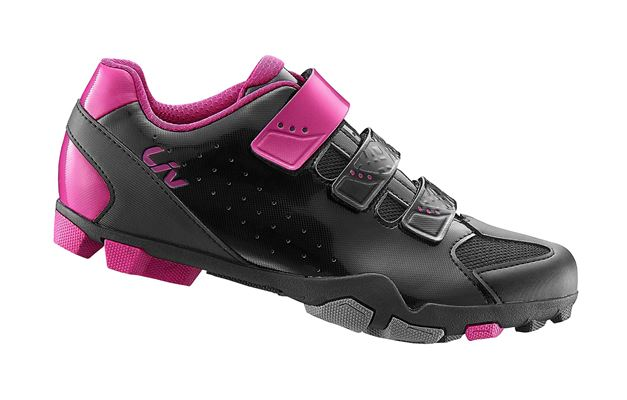 LIV Fera Off-Road Shoe Nylon Sole 37 Black/Fuchsia