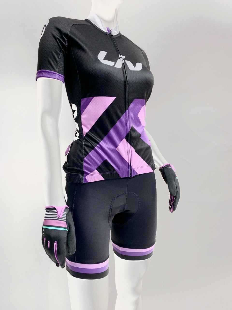 LIV Race Day Top Black/Purple