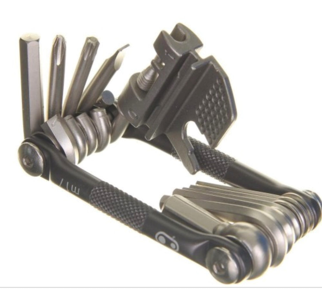 CRANK BROTHERS  Multi Tool 17 - Blk/Slv