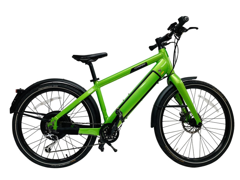 "Stromer ST1-S 17"" Green Electric Bike"