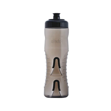 FABRIC CAGELESS WATER BOTTLE BLACK 750 ML