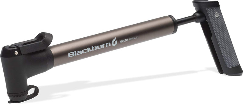 BLACKBURN AIRSTICK ANYVALVE MINI PUMP PEWTER