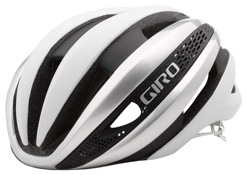GIRO SYNTHE MIPS WHT/SLV L 16 US