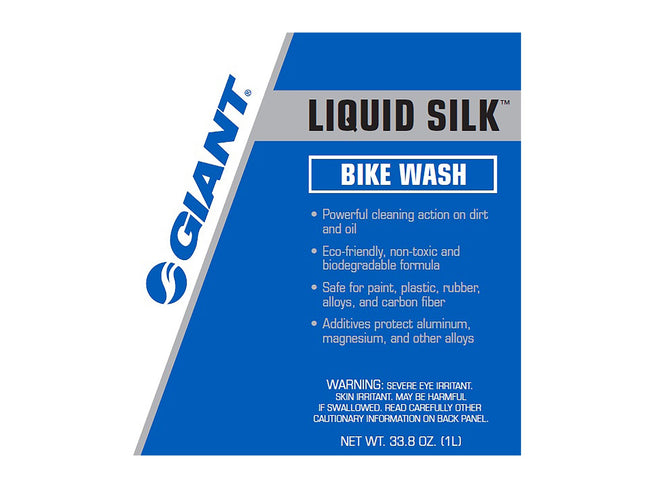 Giant Liquid Silk Bike Wash 33.8oz (1L) Spray Bottle