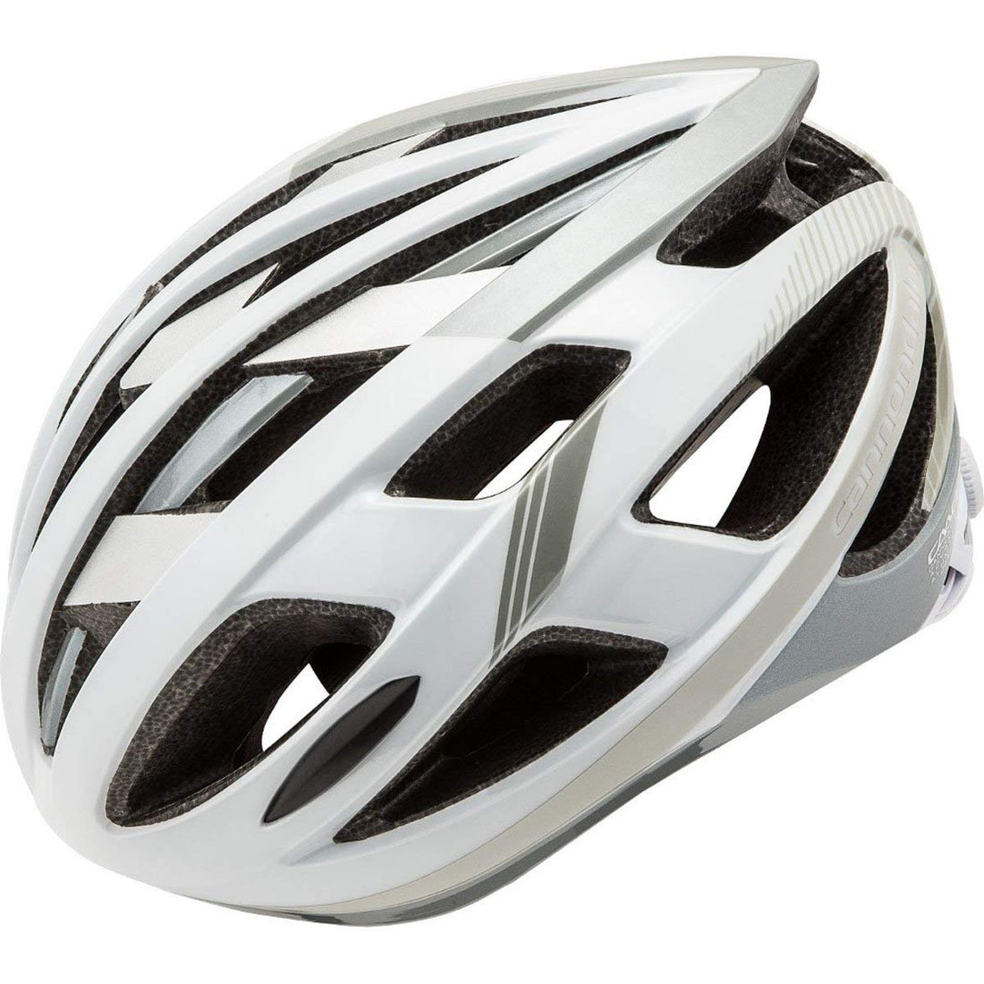 CANNONDALE QUICK HELMET White/Silver Small/Medium