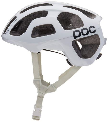 POC Octal Race Day Helmet: Hydrogen White MD