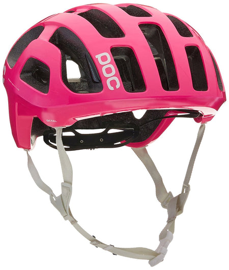 POC OCTAL RACE DAY HELMET Fluorescent Pink Medium